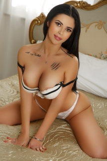 Young double D London escort Martina from Queensway and Bayswater